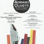 Dedicato ad Adriano Olivetti