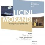 """A Fermo inaugurata la mostra """"Licini-Morandi""""."""
