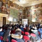 """La sezione Turistica del """"P. Savi"""" alla presentazione della guida sulla Tuscia Etruria"""